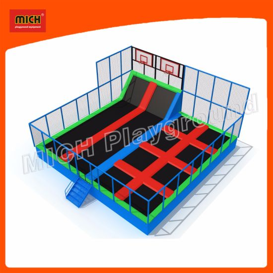 2017mich Indoor Trampoline for Amusement Center 7121b pictures & photos