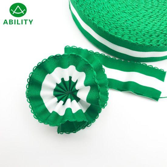 Polyester Flag Webbing Tape Puller Flower