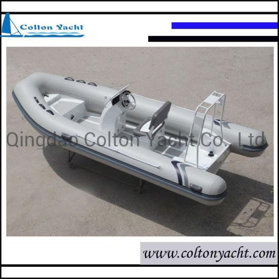 High Quality Wholesale Rigid Inflatable Aluminum Hull Rib Boat