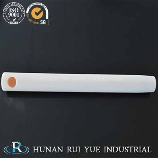 99 Al2O3 Ceramic Tube Porous Alumina Tube pictures & photos