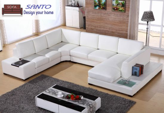 Leather Sofa 9 Seater Sofa Germany Living Room Leather Sofa Leather  Sectional Combination Sofas U Shape Sectional Sofa