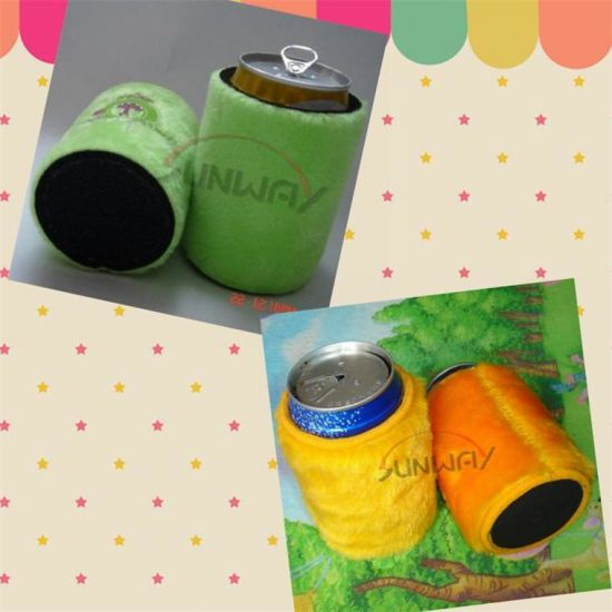 Neoprene Can Cooler, Beer Stubby Holder, Fluffy Stubby Cooler (BC0008) pictures & photos