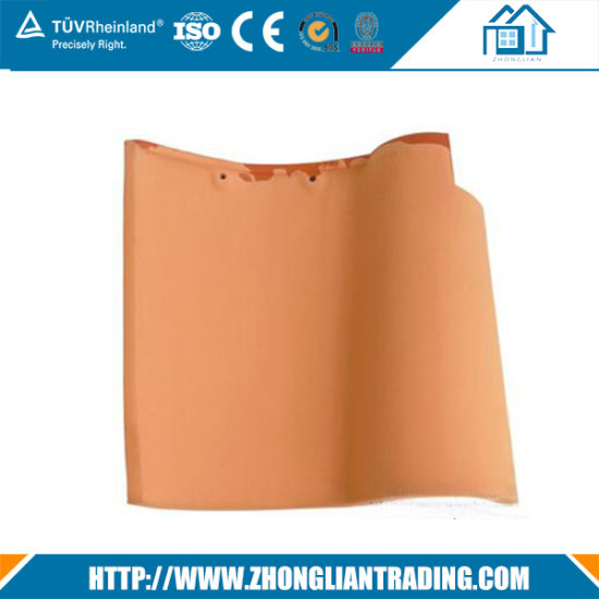 Flat Ceramic Roof Tile Plastic Construction Material Roof Tile pictures & photos