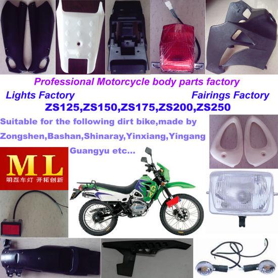 China Motorcycle Parts for Zongshen Dirt Bike - China