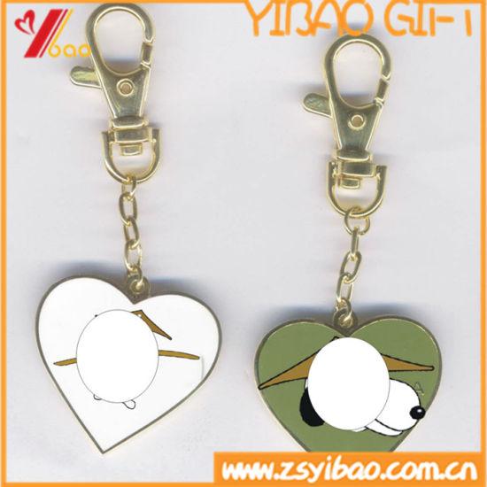 Custom Cute Carton Enamel Metal Key Ring