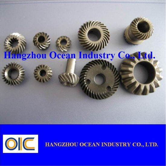 Steel Bevel Pinion Gear Shaft pictures & photos