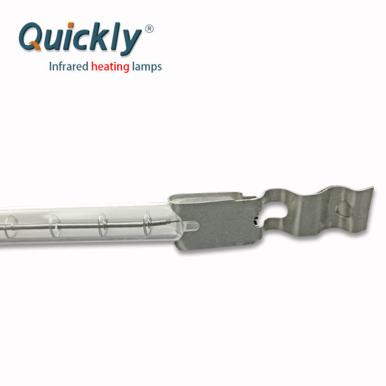 Single Tube Quartz IR Heater Lamps for Firing Furnace