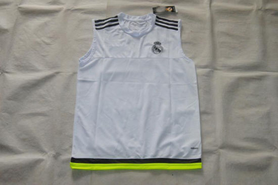 Real Madrid White Football Vest pictures & photos