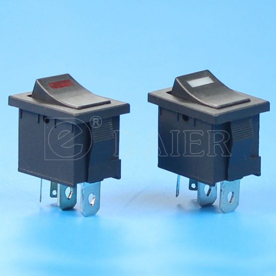 4pin 3V LED Carling Rocker Switch pictures & photos
