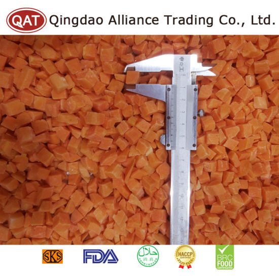 Top Quality IQF Frozen Diced Carrot pictures & photos
