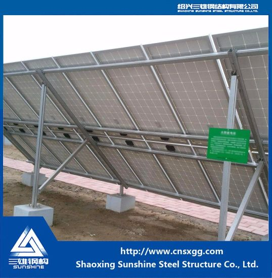 Steel Structure for Solar Mounting System Factory Price