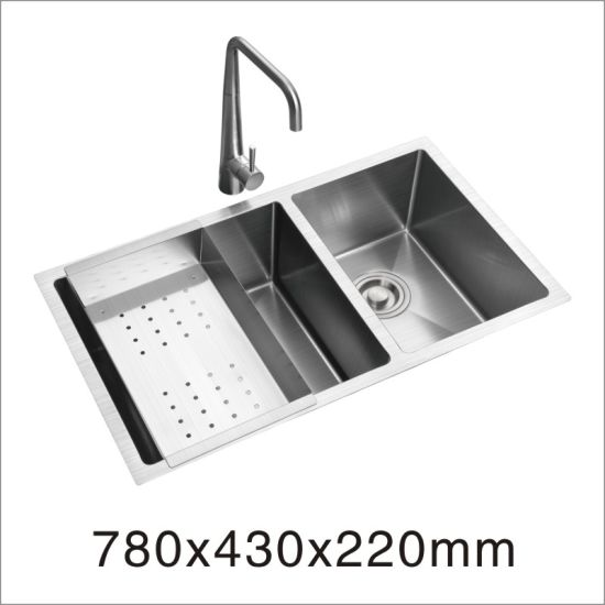 Undermount Stainless Steel Handmade Sink (7853s) pictures & photos