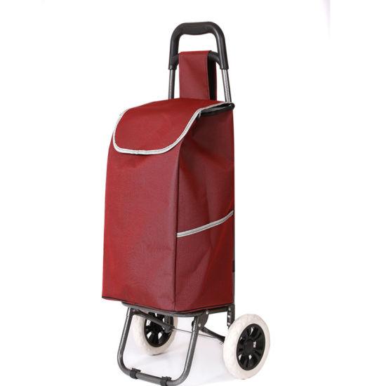 Popular! ! Fashion Folding Shopping Trolley Bag