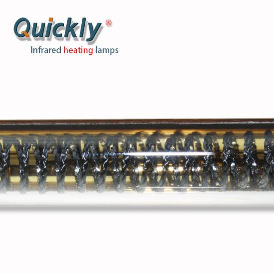 Single Tube Short Wave Quartz Carbon Fiber Infrared Lamp