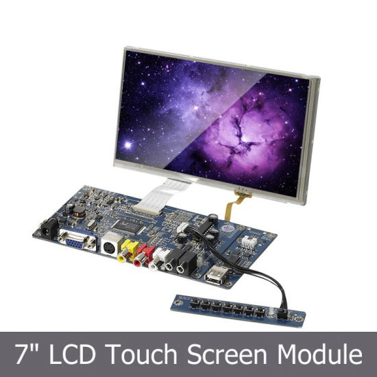 7 Small VGA LCD Screen For POS ATM Display Pictures Photos