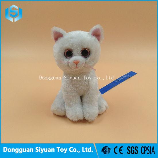 China Ty Beanie Baby Bianca Plush White Cat Toy for Sale - China ... bc0c767e154