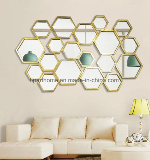 Pleasing China Metal And Wood Framed Art Decoratived Mirror For Home Interior And Landscaping Ologienasavecom