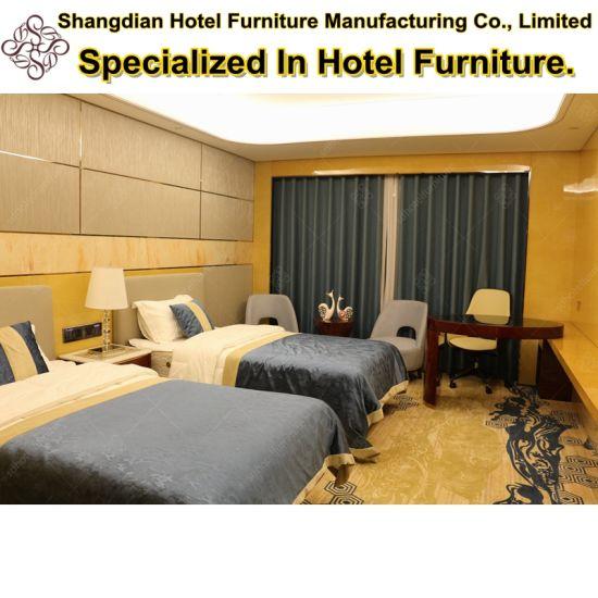 5 Star Hotel Furniture Luxury Bedroom Furniture with Wardrobe (KL N04)