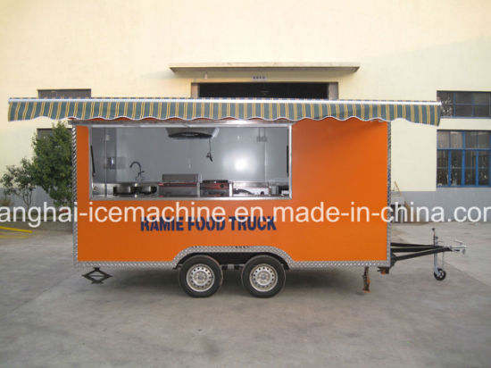 Mobile Food Cart Mobile Food Truck Kiosk Van Trailer for Sale pictures & photos