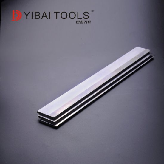 Tct Carbide Inlaid Planer Knives for Wood Planing