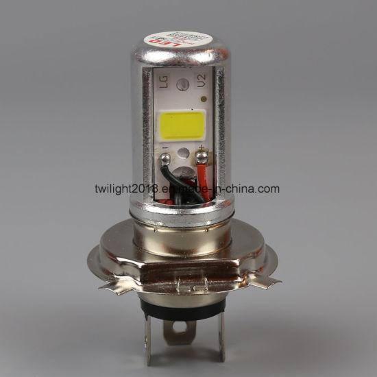 H4 P43t-2COB-12W LED Auto Bulb Headlight