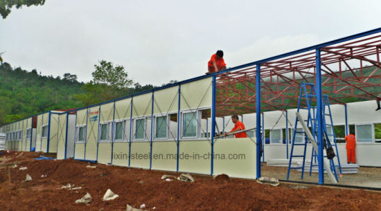 Steel Construction Prefab House Building with EPS Panel pictures & photos