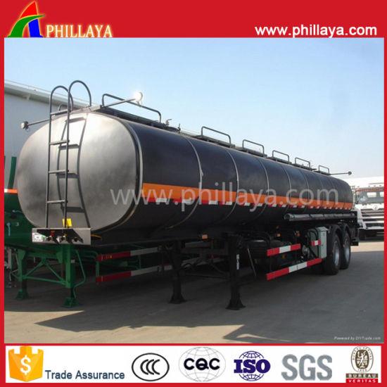 3 Axle 30m3 Bitumen Liquid Tanker Semi Trailer