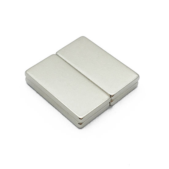 N52 Nickel Coated Strong Magnetic Neodymium Block Rare Earth Permanent Magnets