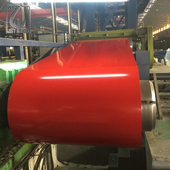 PPGI Prepainted Galvanized Steel Coil with Color Coated pictures & photos