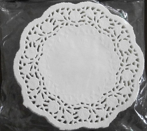 Oval Doyley Lace Paper Doilies Cake Paper pictures & photos