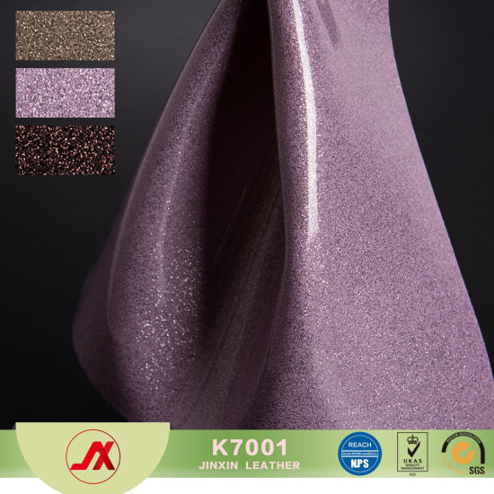 Glittering Patent Leather For Soft Bag Hard Package Bed Leather Sofa Fabric