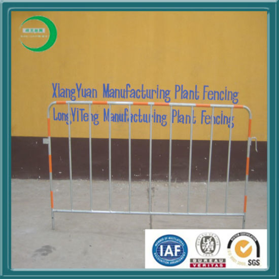Hot DIP Galvanized Pedestrian Fence for Crowd Control pictures & photos