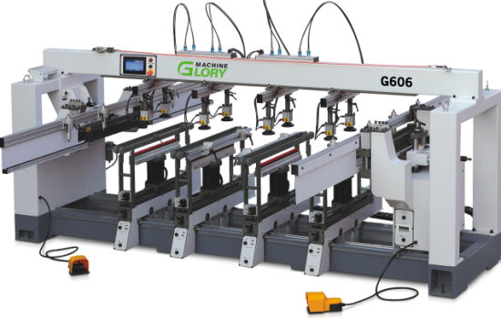 Multi Heads Four/ Six/ Eight Rows/ Randed / Line Wood Drilling / Boring Machine CNC Router Woodworking CNC Machine