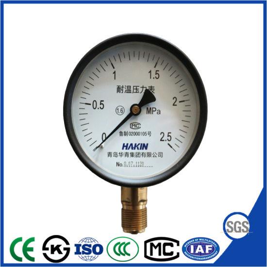 General Heat Resistant Pressure Gauge From Big Factory