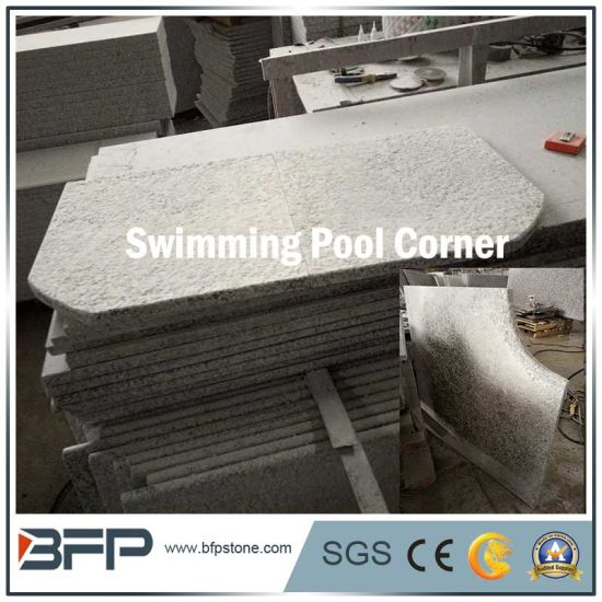 Customized Shape&Dimenstion of Granite Stone Coping for Swimming Pool pictures & photos