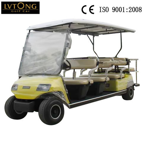 Sale Baterry Power 11 Passenger Golf Car pictures & photos