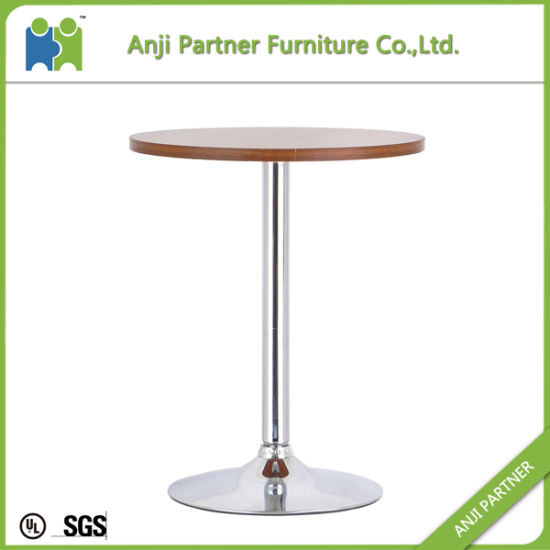 Factory Sale Useful Cheap Settled Chromed Support Bar Table Furniture (Tapah) pictures & photos