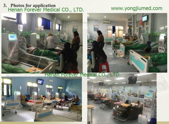 Medical Dialyzer Hemodialysis Nephropathy Machine Consumables pictures & photos