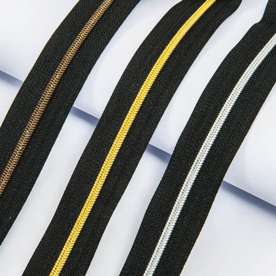 Nylon Zipper for Garment Trimming with SGS CQC Approved