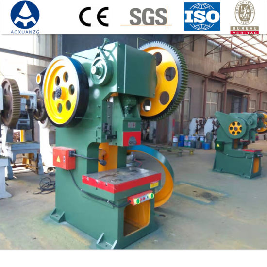 Factory Wholesale Single Crank Mechanical Stamping Power Press for Making Metal Processing