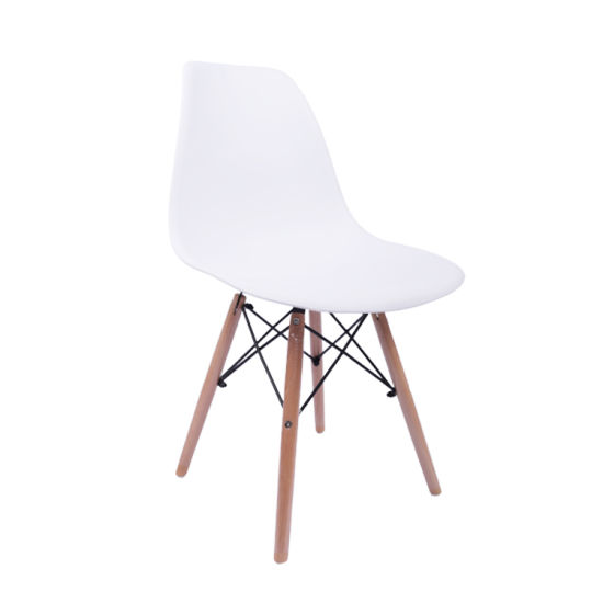 Wholesale Dining Room Furniture Simple Style White Plastic Chair Sillas Cadeira Plastic Chairs Sil