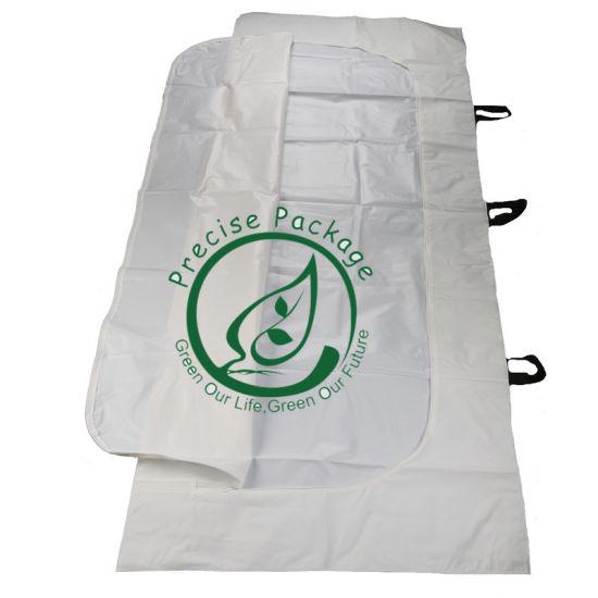Non-Woven Dead Body Bag From China PEVA Cadaver Bag Corpse Plastic Bag