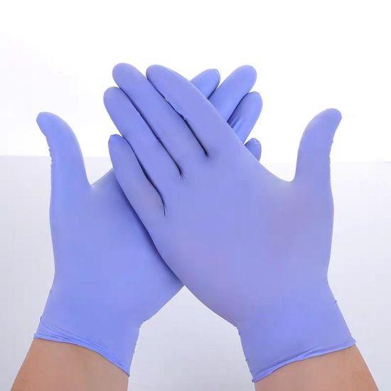 Hospital Medical Exam Nitrile Gloves