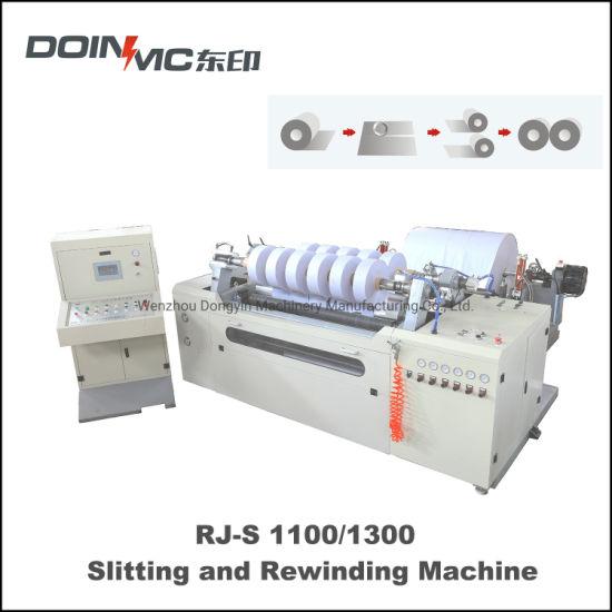 Duplex Turret Rewind Slitting Machine