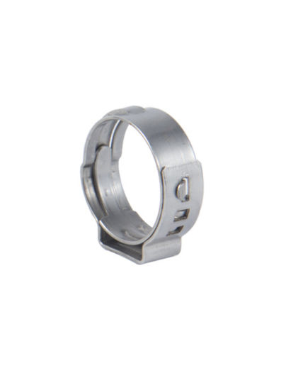 Rust-Proof and Corrosion-Resistant Non-Polar Single Ear Clamp
