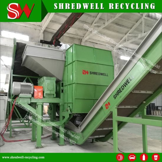 Best Price Passenger/Truck/Mining Tyre Crusher for Sale pictures & photos