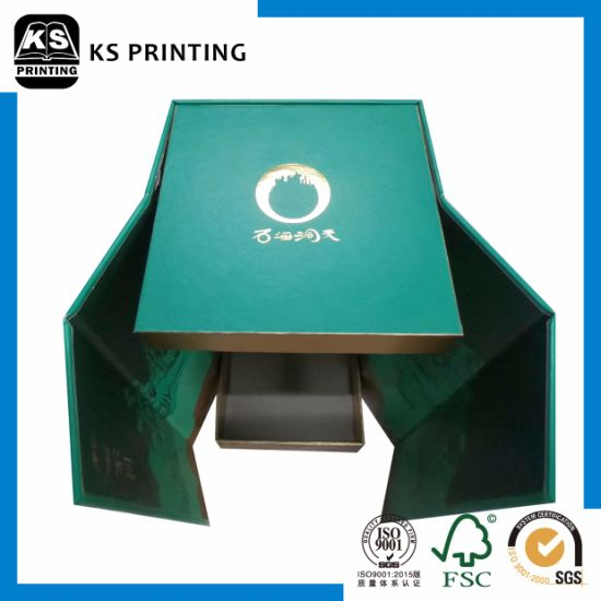 Customized Single Carton Wine Packaging Box pictures & photos