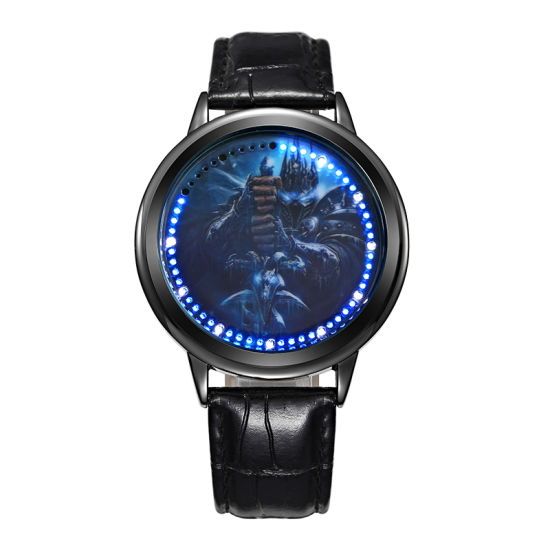Wholesale High Quality Round Customized Sports LED Watch for Promotional (JY-SD010) pictures & photos