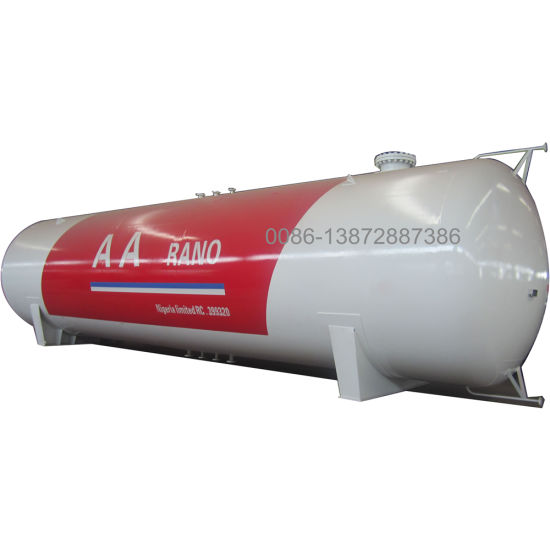 Transport Propane 50000liters LPG Tank with ASME Certification