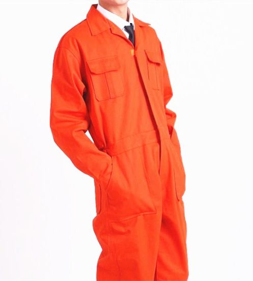 100% Cotton Coverall Working Uniform with Pockets